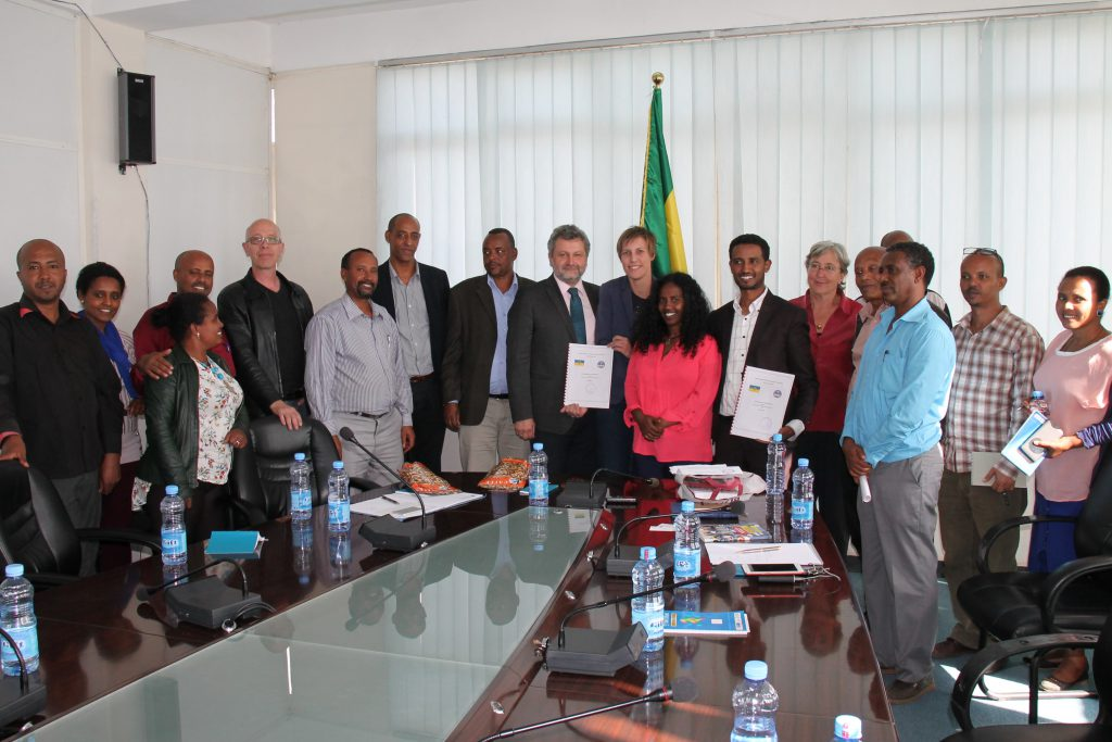 Delegation in Addis Abeba